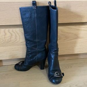 Authentic dior boots